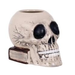Tiki Skull 14X9X12Cm / 70Cl