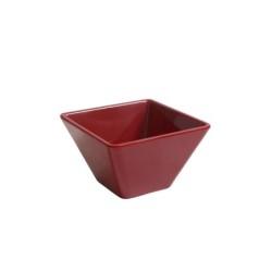 Bowl Ming Rojo 10X10X6Cm