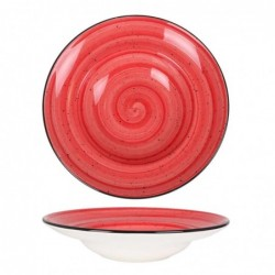 Plato Pasta Passion Red  27Cm