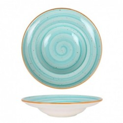 Plato Pasta  27Cm Aqua Blue
