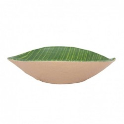 Bowl Hoja Musacea 15X11X4Cm