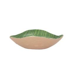 Bowl Hoja Musacea 11X7.5X3Cm