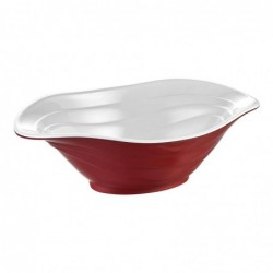 Bowl Duet Bicolor Rojo...