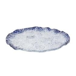 Plato Cobalto 28X2Cm 5Mm