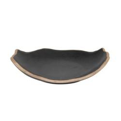 Plato Oval Stoneware 24X19X5Cm