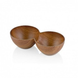 Bowl Doble Ps 25X12.5X7Cm